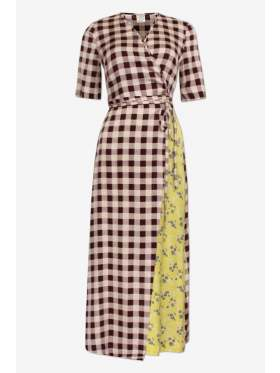 Baum Und Pferdgarten Abygail Creamy Red Check Dress