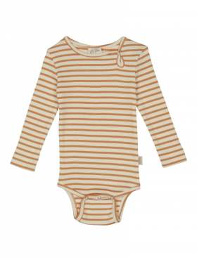 Petit Piao Body Stripet Orange